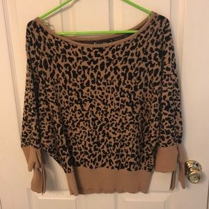 Leopard NYC & Co Sweater